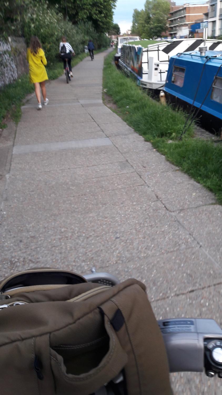 in bici sui canali