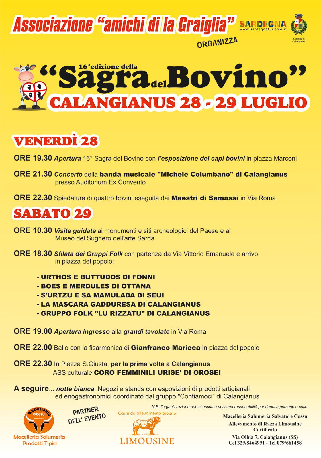 Sagra Bovino 2017
