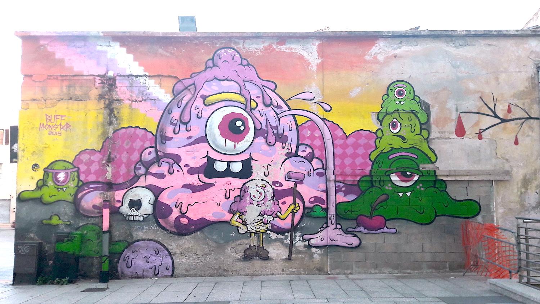 street art Olbia