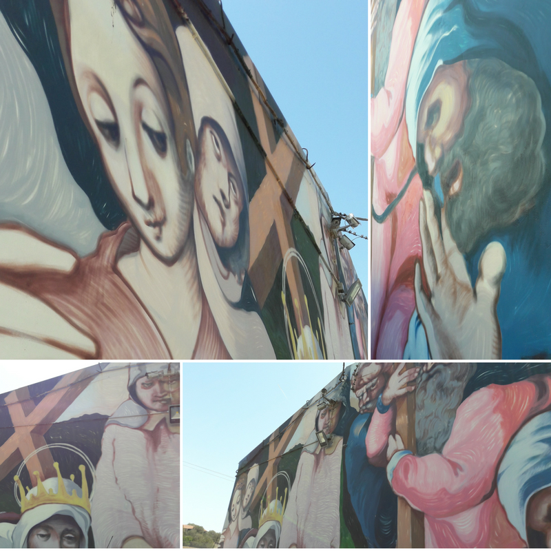 murales parcheggio