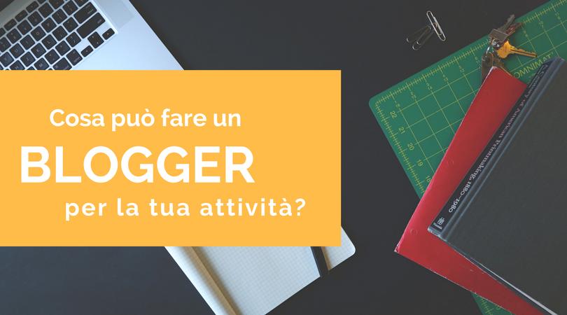 blogger attivita