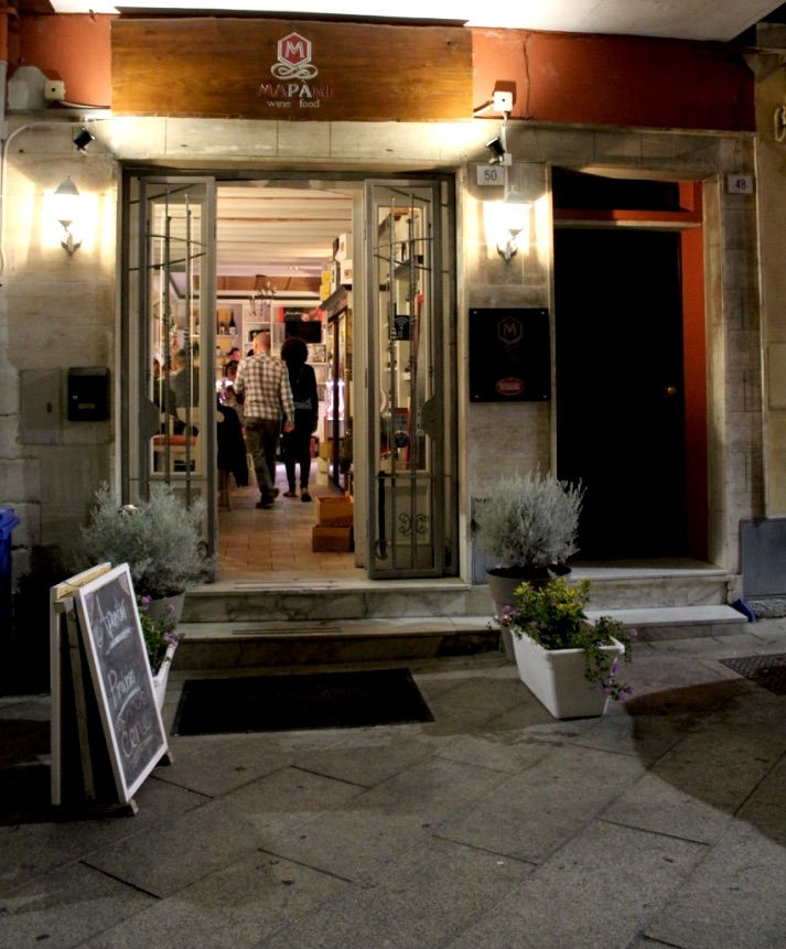 ingresso wine bar