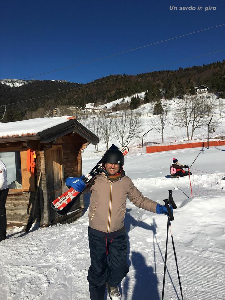 io sulla neve