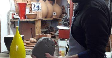 lavorazione argilla