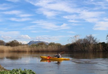 kayak sul fiume