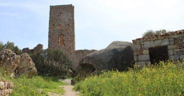 castello di Pedres, torre di avvistamento