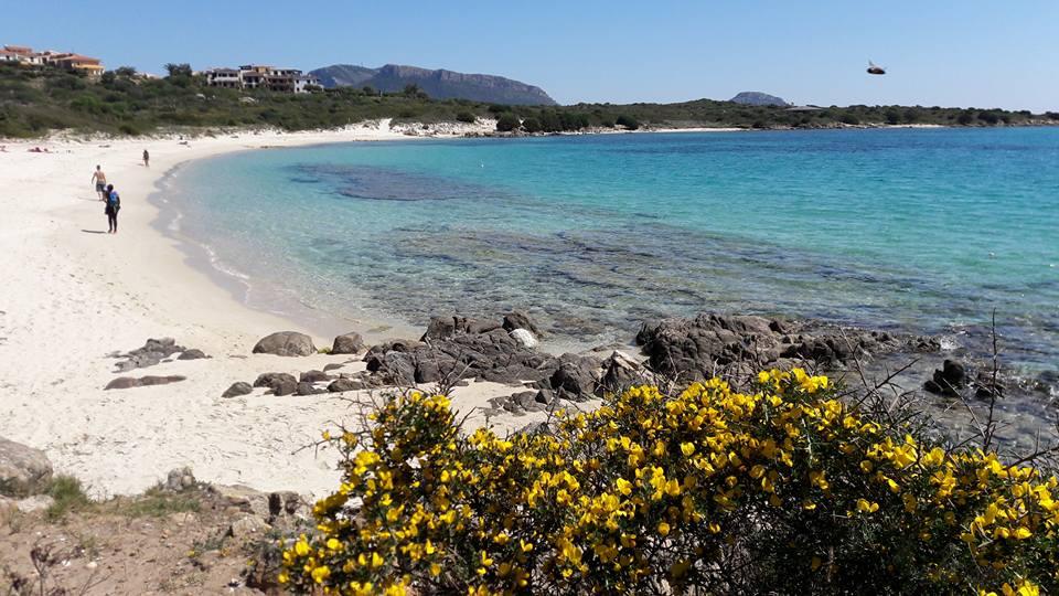 spiaggia bianca primavera