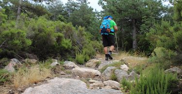 trekking sul limbra