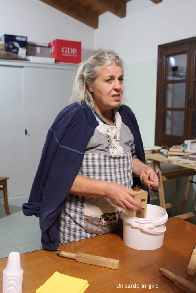 taglio delle olive