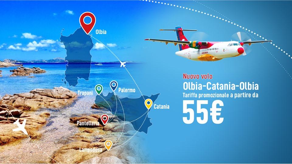 Nuovo volo Olbia - Catania per l'estate 2019 – Un Sardo in ...