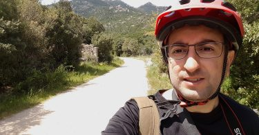 selfie in bici