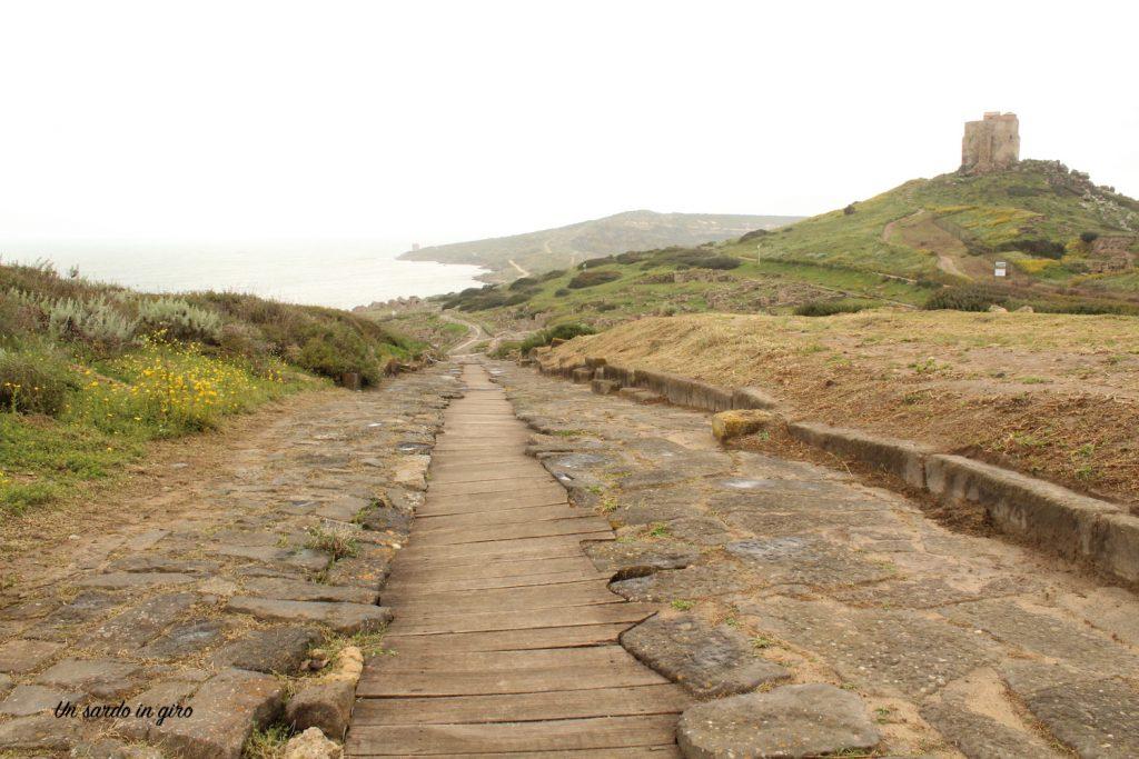 strada romana tharros