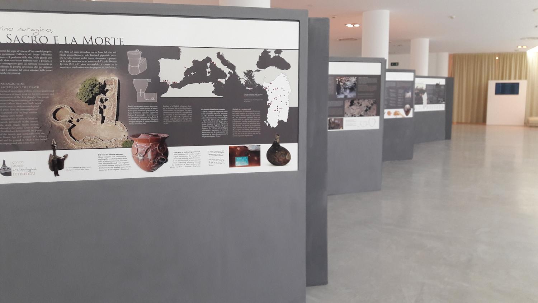 pannelli della mostra