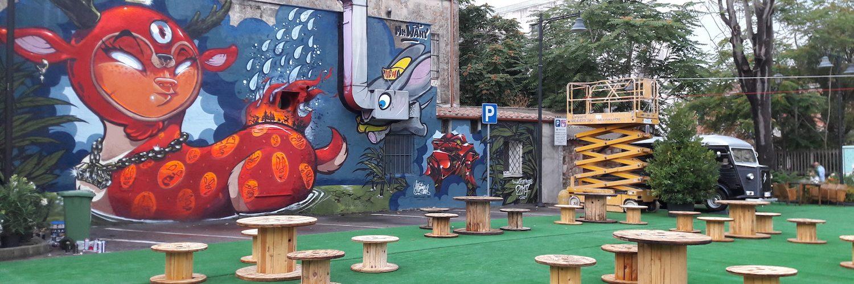 piazza amucano murale