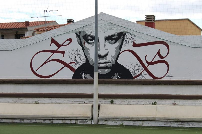 murales salmo Olbia
