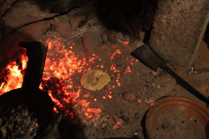 pane nel camino