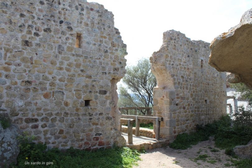 castello di Pedres, particolare