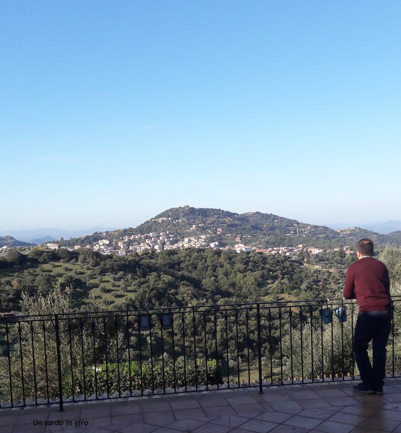 ammirando il panorama