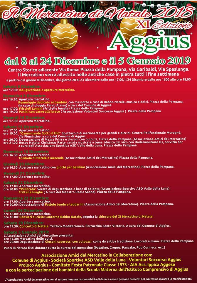 Babbo Natale 8 Dicembre Roma.Natale In Gallura Gli Eventi Paese Per Paese Un Sardo In Giro