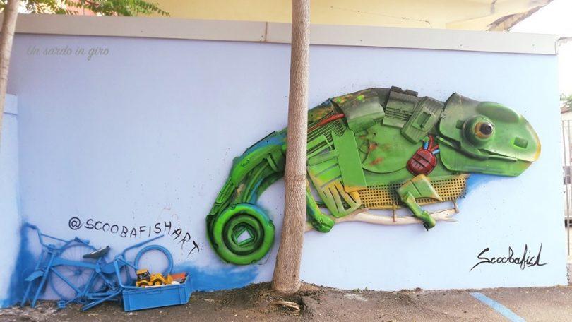 street art di riciclo