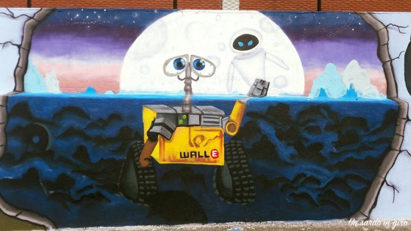 wall-e murales