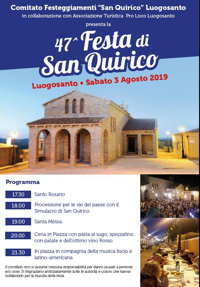 festa san Quirico