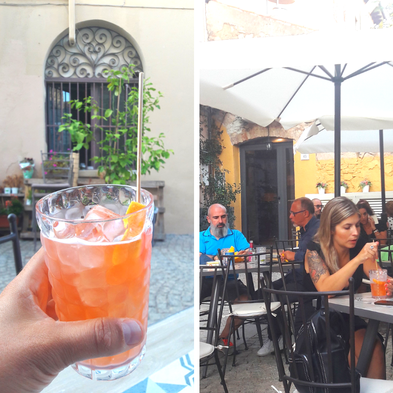 spritz and tonic Olbia