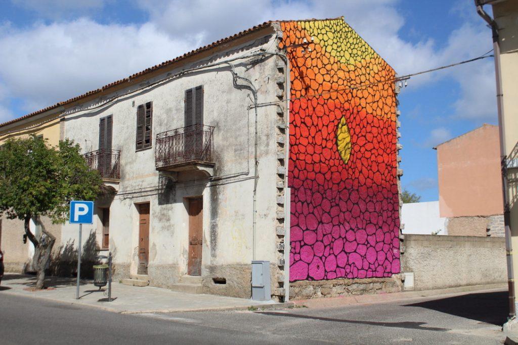 murales colorato telti