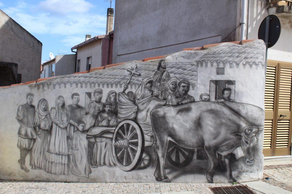 murales processione