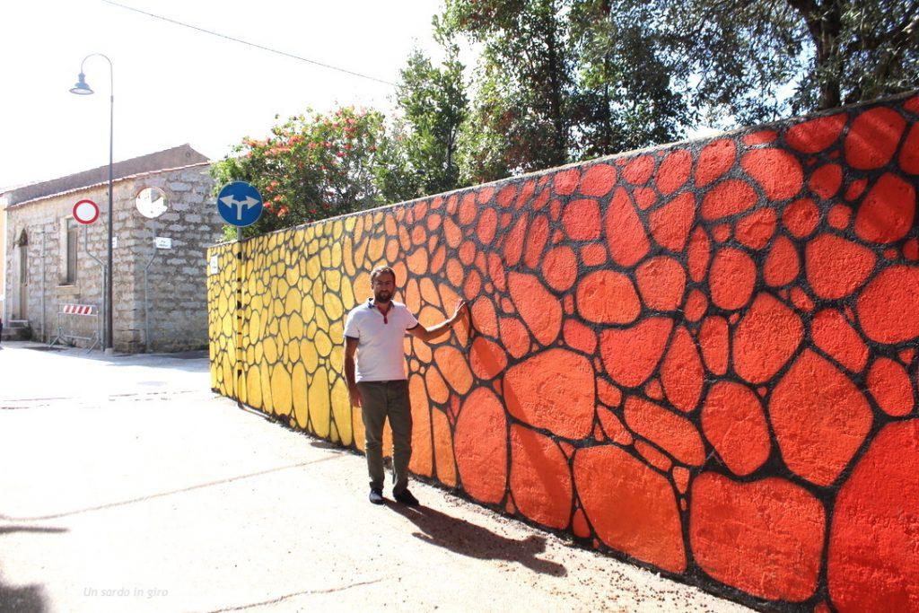 muro colorato