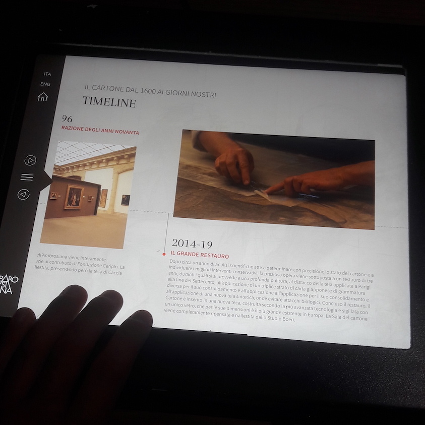 tablet mostra