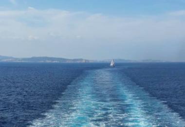vista da traghetto