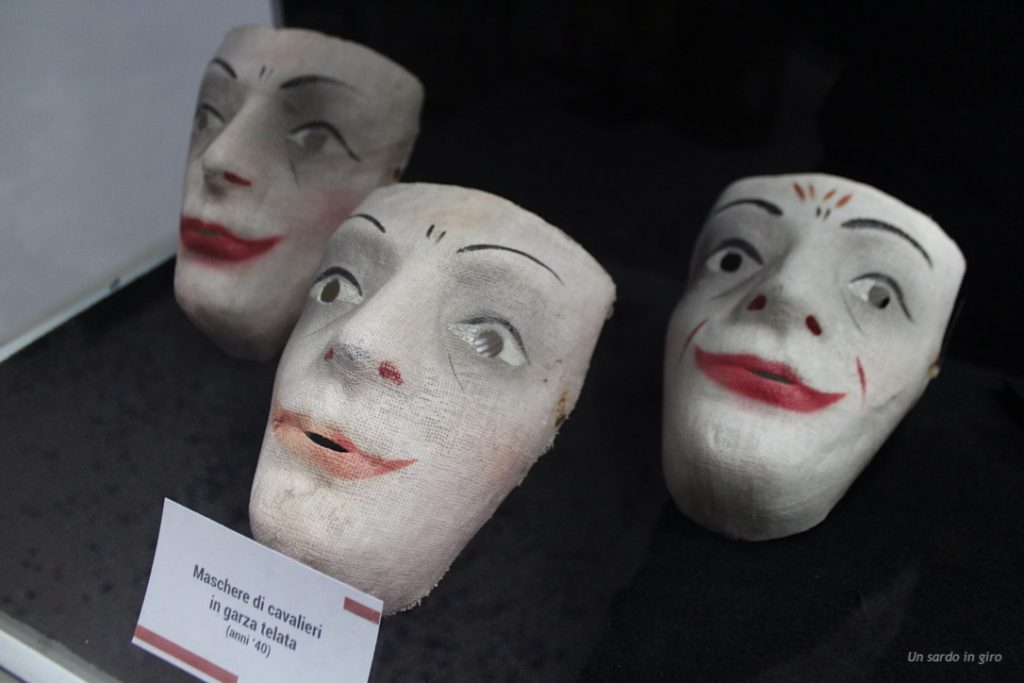 antiche maschere cavalieri