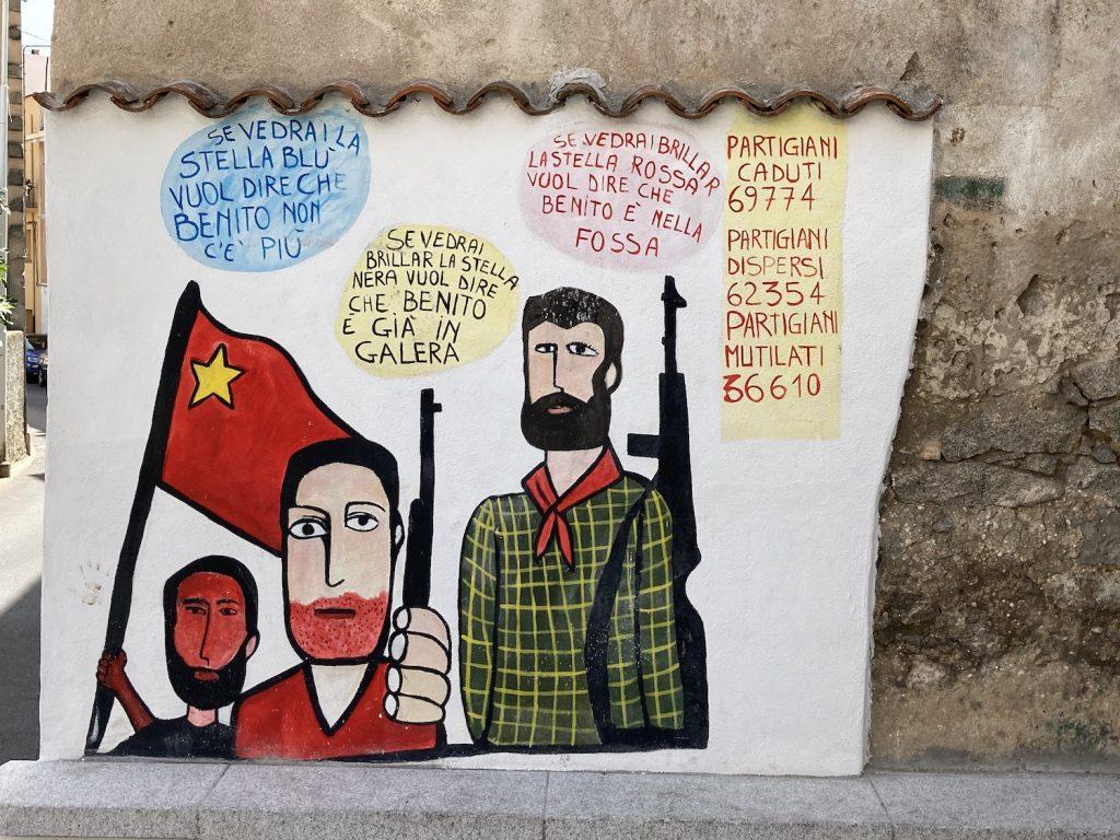 murales partigiani